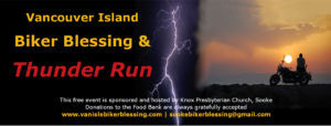 Thunder Run and Biker Blessing @ Knox Presbyterian Church - Sooke